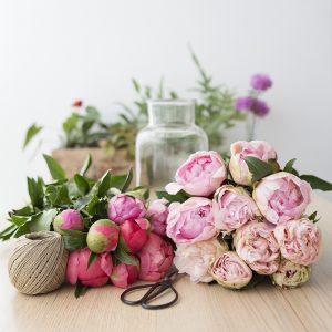 Ramos de flores frescas a domicilo